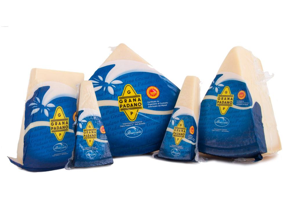 Grana Padano Brazzale vacuum packed
