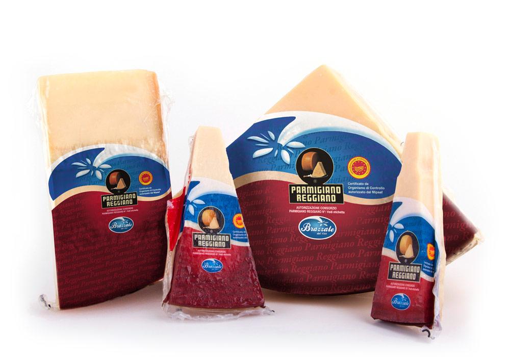 Parmigiano Reggiano Brazzale vacuum packed
