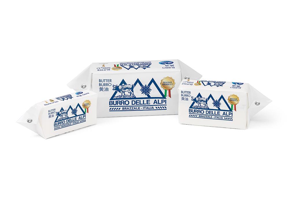 Burro delle Alpi squared block