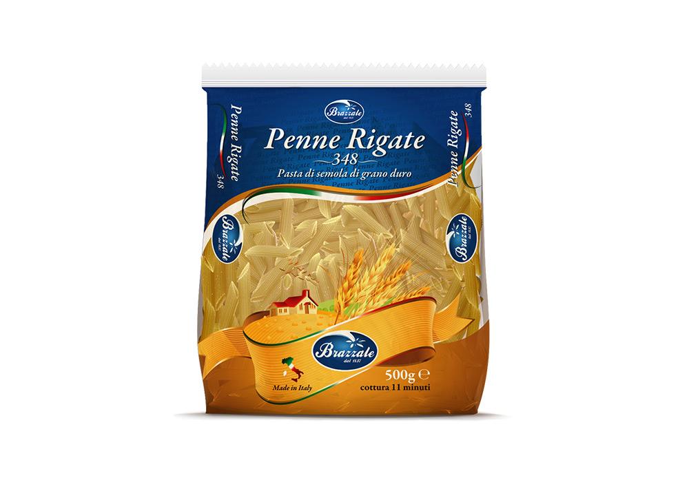 Pasta Brazzale Penne Rigate